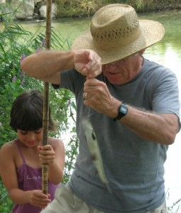 Pêche à Rochefort-du-Gard