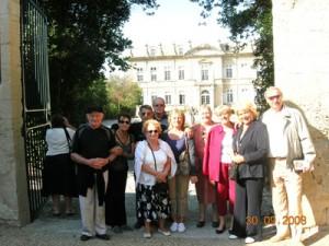 Visite à l\'oliveraie