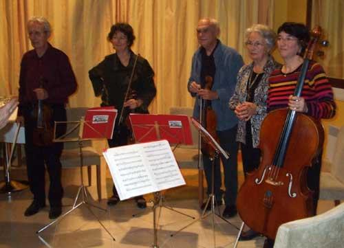 Quatuor à corde