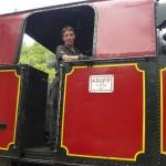 Balade avec le petit train à vapeur des Cévennes vers la bambouseraie d'Anduze