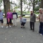 « Concours de boules » au barrage