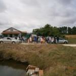 Visite d'une ferme aquacole