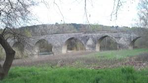 Le pont de Charles Martel, classé monument historique