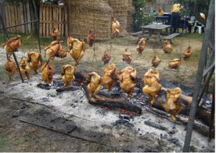 poulets villeréal