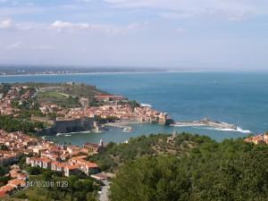 la rade de Collioure