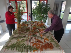 Buffet forestier - Par Marie-Do et Claude