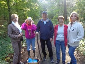 Denise, Jeanne, Jean-Claude, Anne-Marie et Martine sont nos chercheurs du jour !