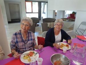 Nos deux gourmandes : Caroline et Jeanne !
