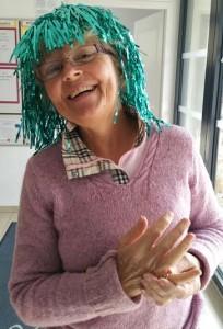 Michele et son splendide sourire, joie de vivre et bonheur se lisent sur son visage