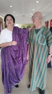 Un superbe couple Jacques et Régine venus tout droit des pays du soleil