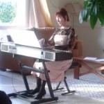 Une pianiste aux Senioriales de Montagnac