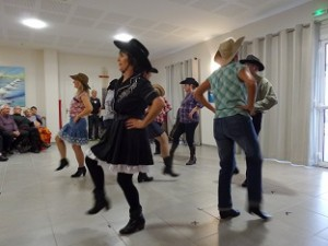yeh, la country se danse.