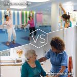 Quelles sont les différences entre résidences seniors et maisons médicalisées ?