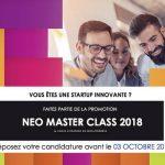 Senioriales partenaire du concours Néo Master Class pour les start-up