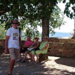 à L'ombre Nicole, Micheline, Annie et Jean Claude